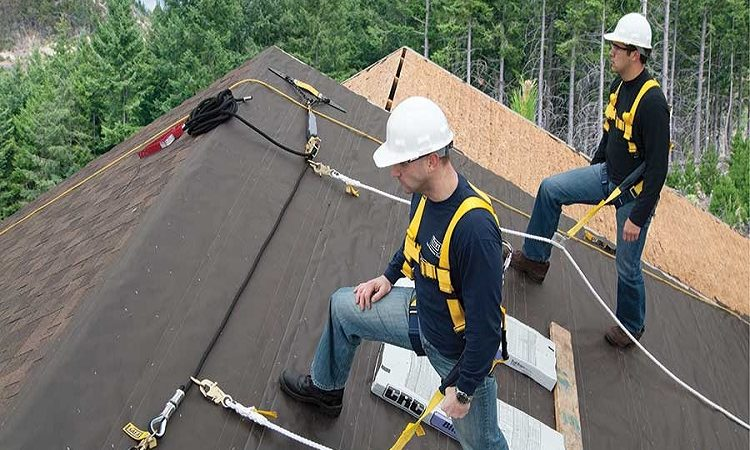 The Roofing is a Detailed Task Requiring Many Steps